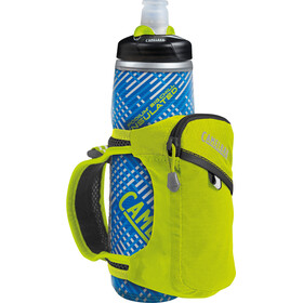 CamelBak Quick Grip Chill Handheld Water Bottle lime punch/black